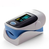 Finger Pulse Oximeter Grey/blue