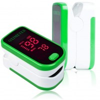 Finger Pulse Oximeter (Green)