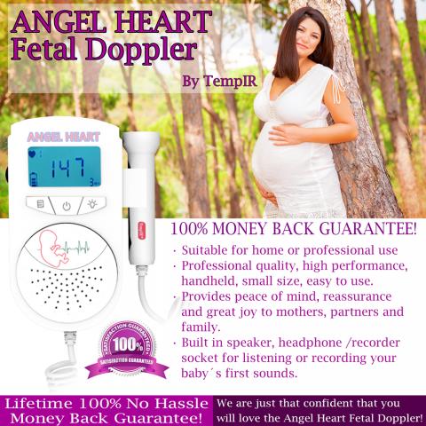 Fetal Doppler Baby Heartbeat Monitor