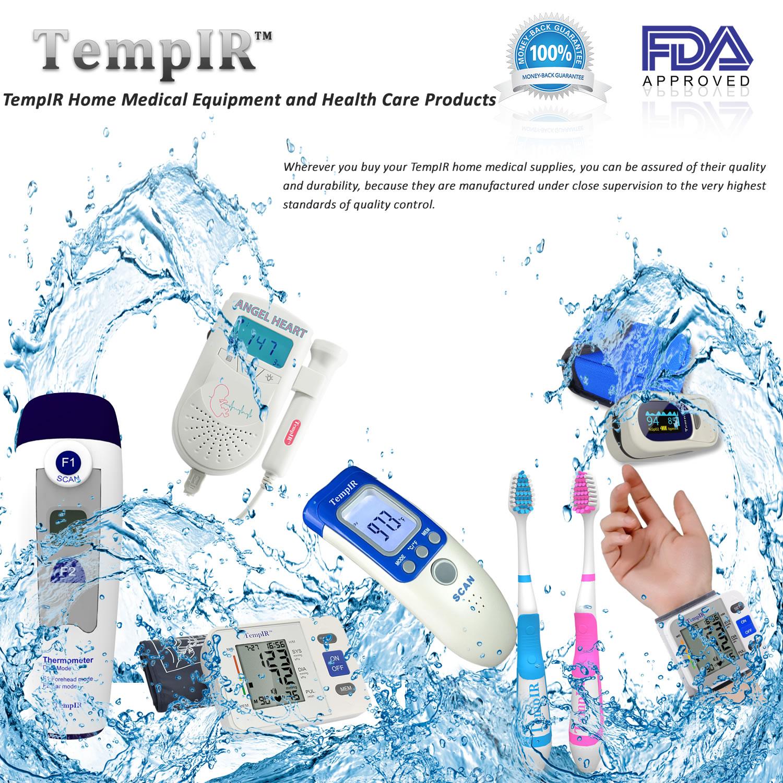 Finger Pulse Oximeter Tempir Spo2 Heart Rate